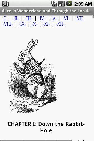 Alice in Wonderland and Throug