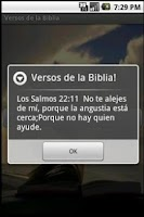 Screenshot of Versos de la Biblia Libre