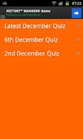 Screenshot of Football Quiz