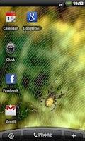 Screenshot of Spider - Live Wallpaper