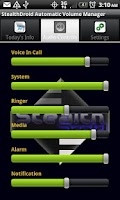 Screenshot of stealthDroid Volume Manager F
