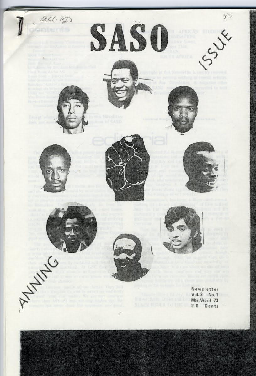 Cover of SASO newsletter, 1973