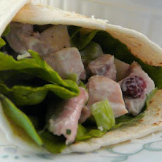 Cool Turkey Salad (For Pita or Sandwich)