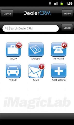 iMagicLab DealerCRM Mobile