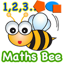 Funny Math Bee Learning Kits icon