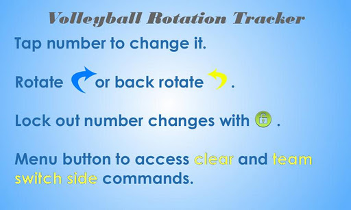 Volleyball Rotation Tracker