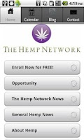 Screenshot of Hemp Network