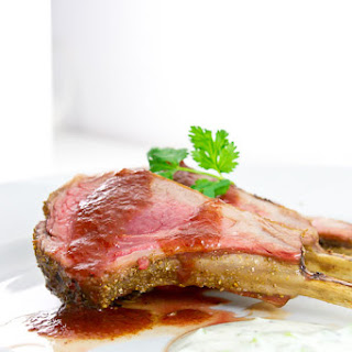 Cumin Crusted Lamb with Watermelon Chutney