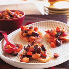 Caponata with Fennel, Olives, and Raisins