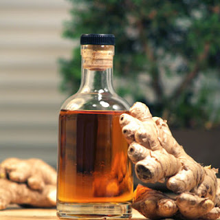 DIY Ginger Liqueur