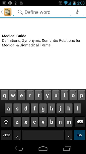 Medical Dictionary Guide