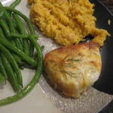 Cheesy Halibut Bake