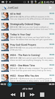 Screenshot of JoelCast Podcast Archive