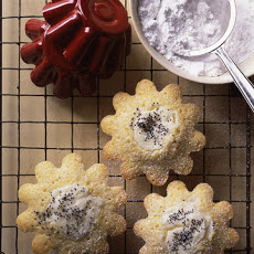 Cream Cheese and Poppy Seed Cakes