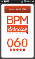 Screenshot of BPM-Detector
