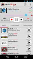 Screenshot of Radio Shqip - Albanian Radio