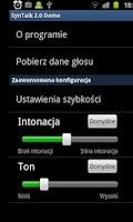 Screenshot of SynTalk 2.0
