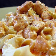 Creamy Buffalo Chicken Pasta