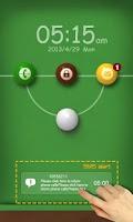 Screenshot of Snooker GO Locker Theme