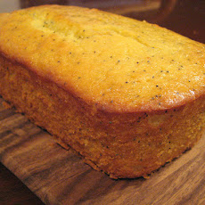 Lemon-Flax Seed Loaf Cake