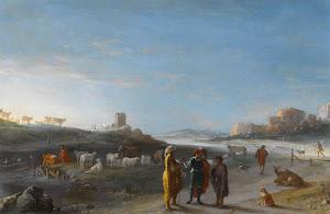 RIJKS: Cornelis van Poelenburch: painting 1627
