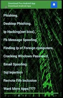 Screenshot of Hacking Course a pocket guide