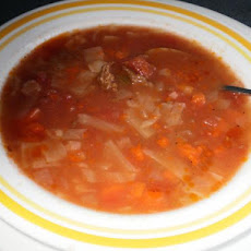 Crock Pot - Cabbage Beef Soup