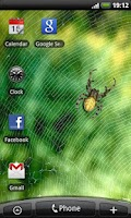 Screenshot of Spider - Live Wallpaper