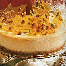 Pistachio Brittle Cheesecake