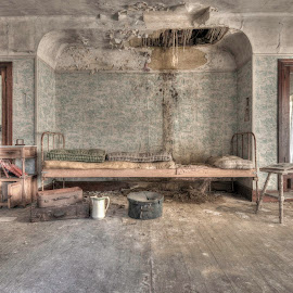 by Tim Verbeeck - Buildings & Architecture Other Interior ( urbex, old, hdr, abonded, bedroom, decay )