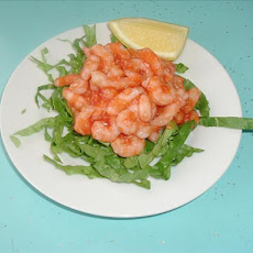 Shrimp in Hot Cocktail Sauce