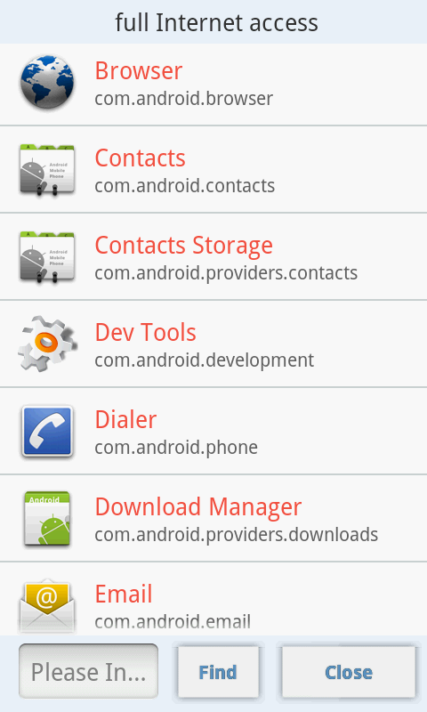 Adv Permission Manager (Pro) Screenshot 3