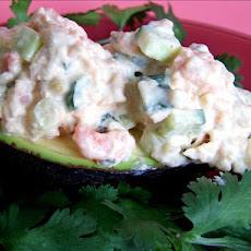 Stuffed Avocado California Style (Pseudo Sushi)