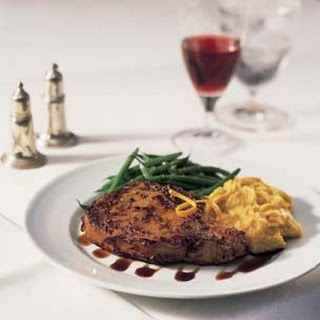 Caramelized Veal Chops with Balsamic Syrup