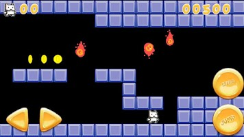 Screenshot of Cat Mario Parody Lite