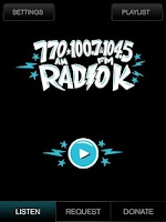 Screenshot of Radio K - KUOM