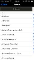 Screenshot of Aquarium I.D. LITE