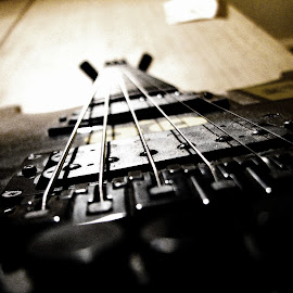 My very own guitar by Luka Radulović - Artistic Objects Musical Instruments ( floyd rose, peavey, guitar, closeup )