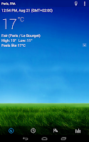 Screenshot of 3D Sense Clock & Weather