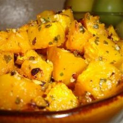 Savory and Sweet Butternut Squash