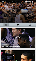 Screenshot of Phoenix Suns Mobile