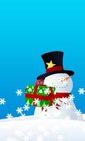 Screenshot of Christmas Snow Globe