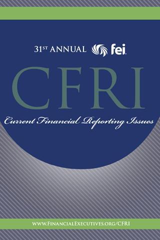 玩書籍App|31st Annual CFRI Conference免費|APP試玩