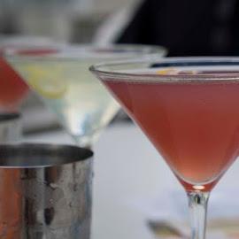 5 O'Clock by Lynn  Fleishman - Food & Drink Alcohol & Drinks ( happy hour, cranberry, cosmo, martini, pink, cosmopolitan, drinks, lemon drop, lemon )