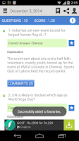 Screenshot of Daily Current Affairs & GK