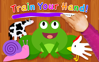 Screenshot of Train Your Hand!
