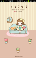 Screenshot of Dasom knit go locker theme
