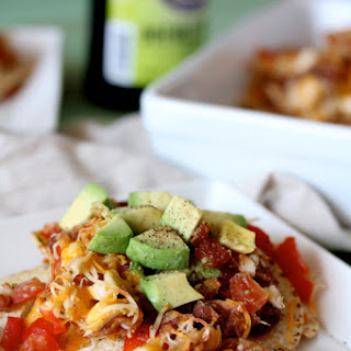 Ben's Lightened Chicken Nachos, GF