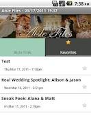 Screenshot of Aisle Files