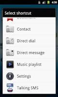 Screenshot of Talking SMS Reader
